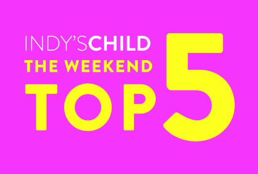 indys child weekend top 5