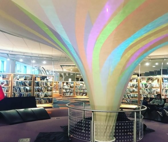 Central Library is a must visit thing to do in Indianapolis with kids