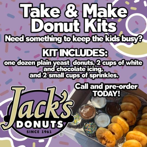 Jack S Donuts Take Make Donut Kits Indy S Child Magazine No delivery fee on your first order. jack s donuts take make donut kits