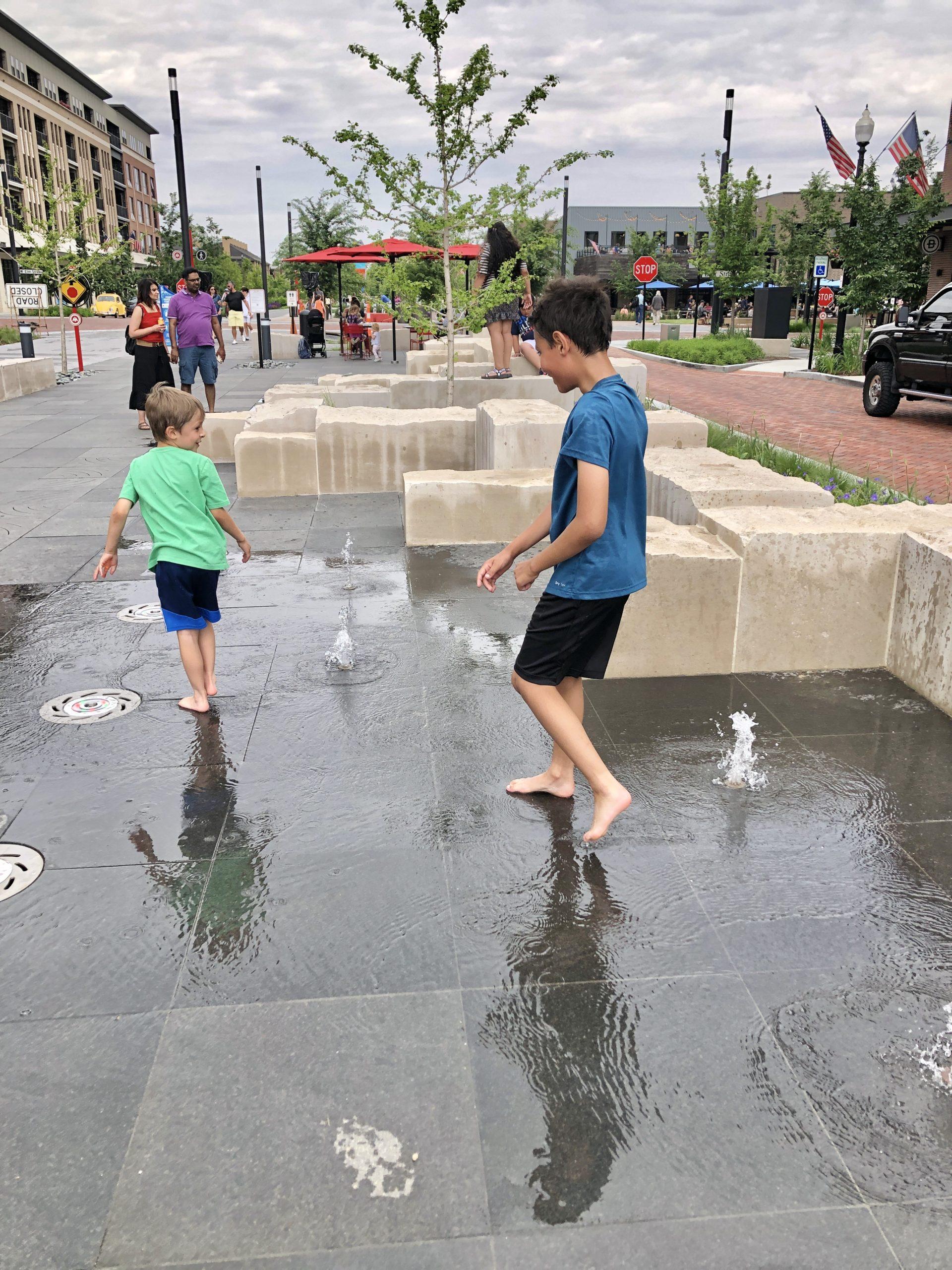 Midtown Carmel playground